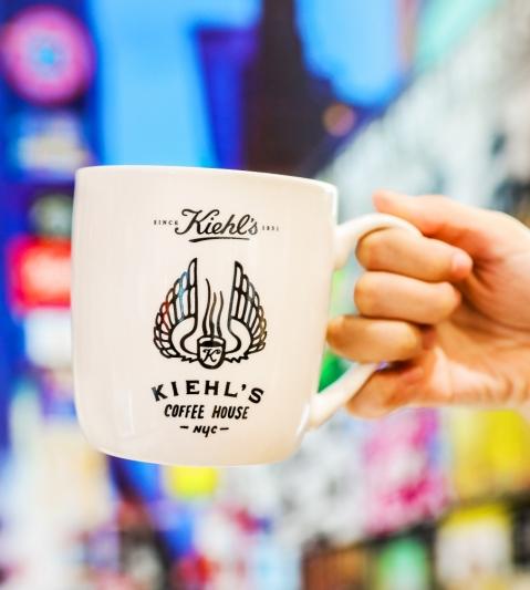 KIEHL'S COFFEE HOUSE 一周年限量版馬克杯,NT250