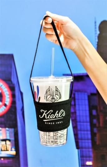 KIEHL'S COFFEE HOUSE 一周年環保杯組(吸管杯+黑色環保提袋)