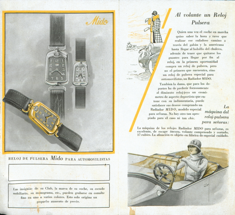 1920'S Motorist-s-Watch