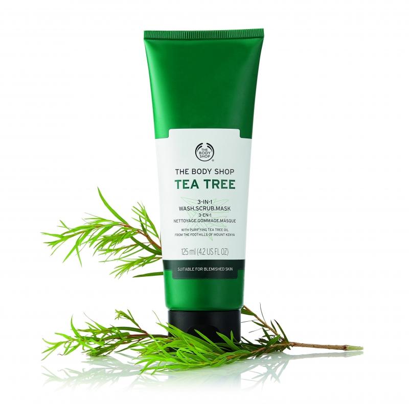 茶樹3效淨膚-磨砂-面膜125ml,NT920