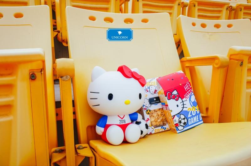 Unicorn推出Hello Kitty可愛造型爆米花
