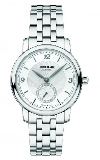 萬寶龍Star Legacy明星傳承系列小秒針腕錶36mm,NT109,000。