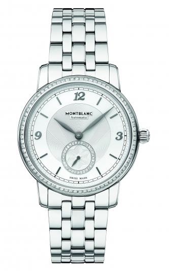 萬寶龍Star Legacy明星傳承系列小秒針腕錶36mm,NT183,300。
