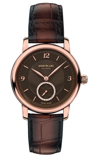 萬寶龍Star Legacy明星傳承系列小秒針腕錶36mm,NT259,400。