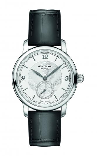 萬寶龍Star Legacy明星傳承系列小秒針腕錶36mm,NT98,600。