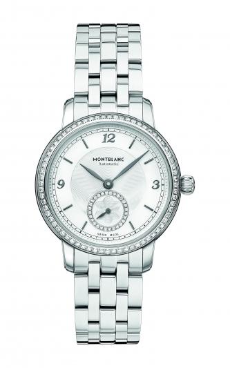 萬寶龍Star Legacy明星傳承系列小秒針腕錶32mm,NT166,000。