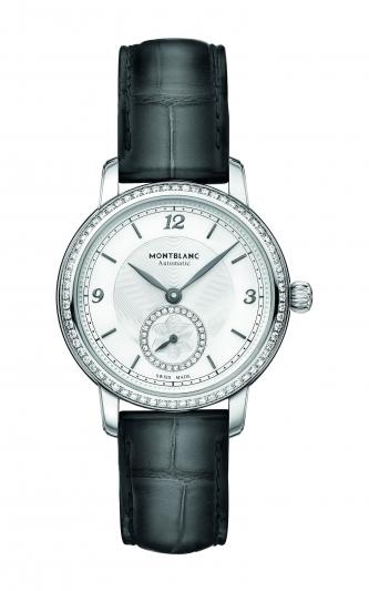 萬寶龍Star Legacy明星傳承系列小秒針腕錶32mm,NT155,600。
