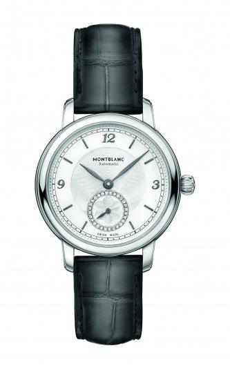 萬寶龍Star Legacy明星傳承系列小秒針腕錶32mm,NT91,700。