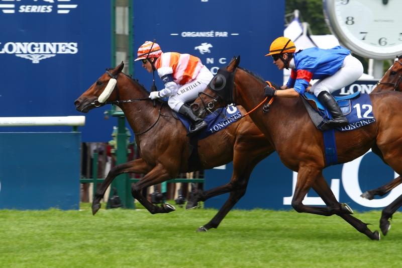 業餘騎師 Alice Bertiaux 與其賽駒 Ducale di Maremma 憑藉精湛技藝拿下Reine Marie-Amélie大獎賽冠軍