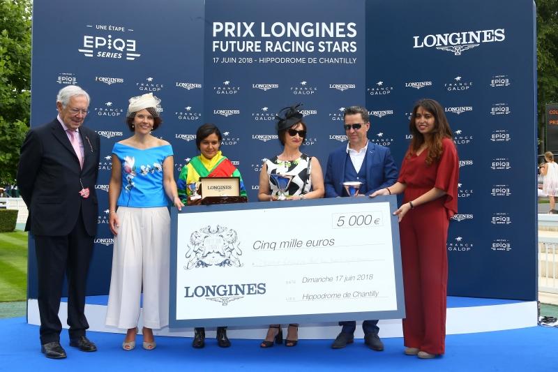 Longines浪琴表賽馬明日之星大獎 頒獎典禮