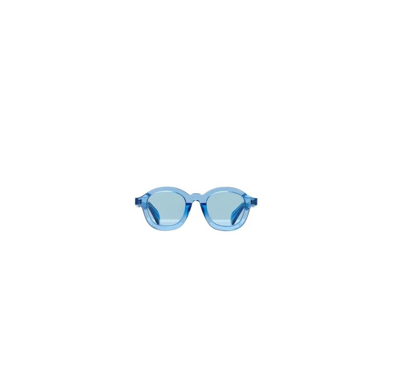 藍色矽膠框墨鏡,Céline。