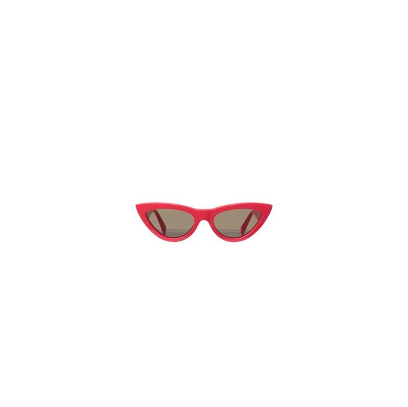 紅色貓眼墨鏡,Céline。