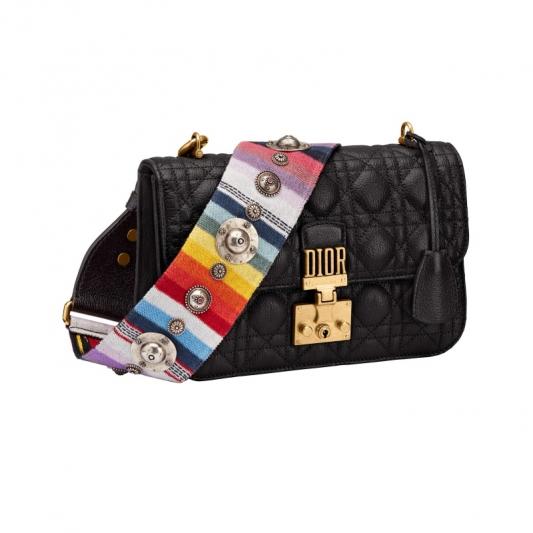 虹彩揹帶中型翻蓋包,Dior,NT125,000。
