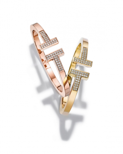 Tiffany T Square 鑲鑽手環 NT$399,000