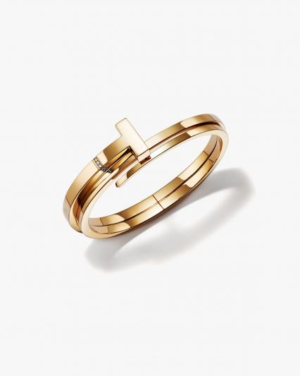 Tiffany T Wrap 18K金鑲鑽手環 NT$254,000