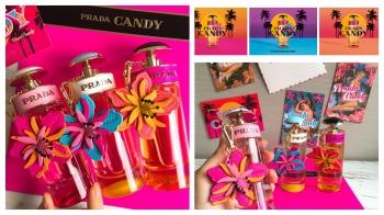 只送不賣!Prada Candy推出俏皮可愛的限量皮革熱帶花卉吊飾 用熱帶花卉迎接盛夏假期!