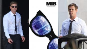 白襯衫、墨鏡根本帥度破表!雷神克里斯漢斯沃將攜手最強老爸連恩尼遜主演《MIB星際戰警》外傳電影