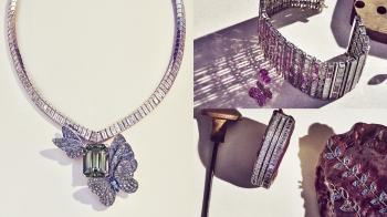 【編輯帶路】走進Tiffany & Co.打造的一座珠寶溫室小花園,感受2018年最新Blue Book 頂級珠寶系列的美好與瑰麗!