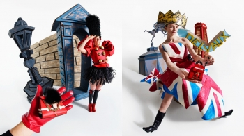 倫敦限定!Delvaux全新袖珍系列把電話線提把、士兵頭飾、英國國旗全部變成包包了