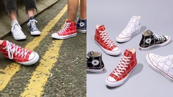 Converse最新聯名再一發!聯手設計金童JW Anderson推出字樣高筒帆布鞋
