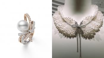 MIKIMOTO嶄新的Jeux de Rubans高級珠寶系列,透過隨夢飄逸的絲帶呼應高訂服的繁複工藝及奢華細節!