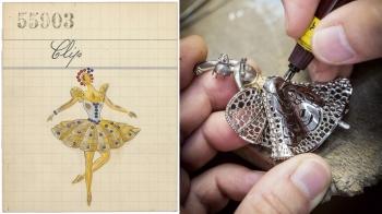 結合頂級珠寶工藝與舞蹈藝術,梵克雅寶完美呈現芭蕾舞伶的曼妙優雅姿態!