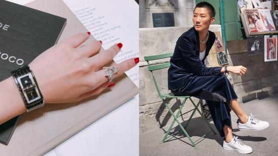 【試戴報告】小香粉這款要收!2018年Chanel香奈兒全新Code Coco腕錶換上黑色高科技精密陶瓷,百搭又時髦!
