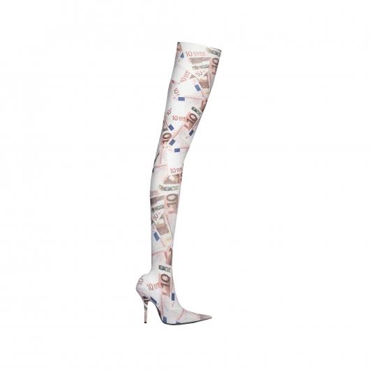 1.印花彈性連襪靴,Balenciaga,價格電洽。