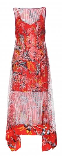 5.細肩帶印花洋裝,Diane von Furstenberg,價格電洽。