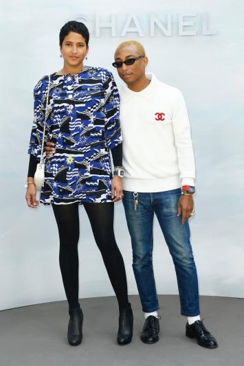 Pharrell WILLIAMS with Helen LASICHANH