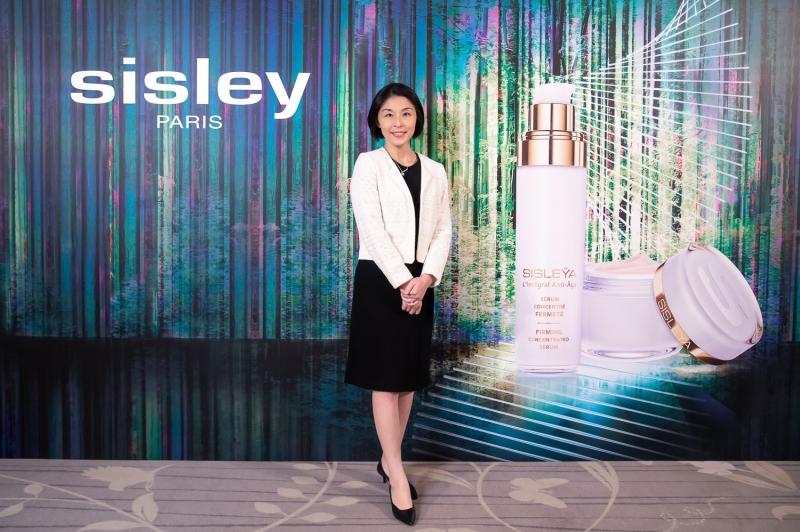 Sisley台灣分公司總經理龍姵妏