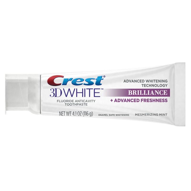 Crest專業鑽白牙膏 長效清新款