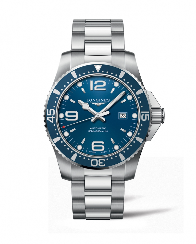浪琴表深海征海者系列海藍色潛水腕錶 (L3.841.4.96.6),建議售價NT$39,800