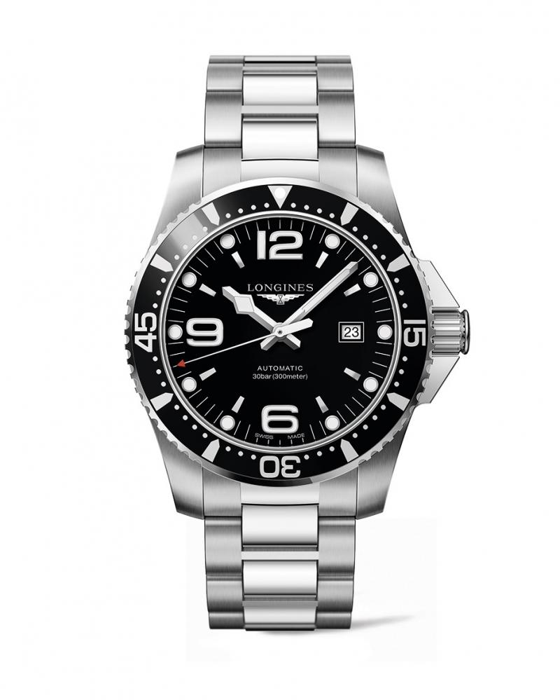 浪琴表深海征海者系列黑色潛水腕錶 (L3.841.4.56.6),建議售價NT$39,800