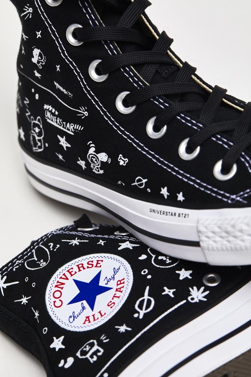 Chuck Taylor All Star 高筒鞋款建議售價為NTD 2,880