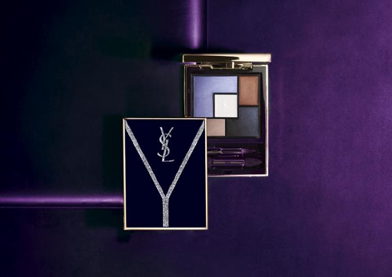 YSL 2018限量秋妝闇紫誘惑YCONIC PURPLE產品視覺