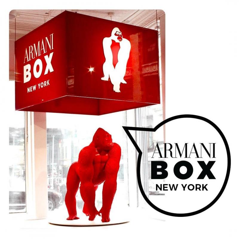 紐約Armani Box(IG@ArmaniBeauty)