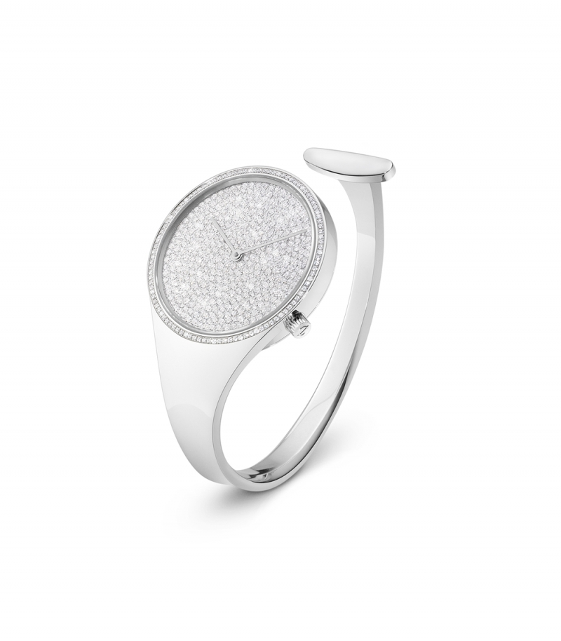 GEORG JENSEN_VIVIANNA鋪鑽手鐲錶_建議售價NT$645,000