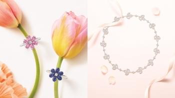 百合、向日葵、勿忘我和芙蓉…以花朵為靈感的Winston Garden春日珠寶浪漫曝光