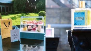超迷你甜點櫥窗櫃裝下午茶好療癒!香氛品牌Miller Harris與寒舍艾麗聯名香水系列茶點