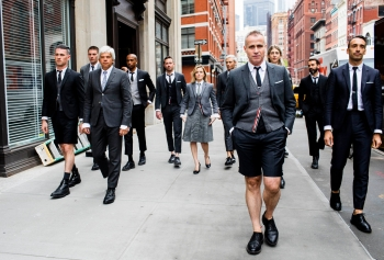 與全球零時差!來自紐約,原汁原味的Thom Browne概念櫥窗與系列男女裝強勢登場!
