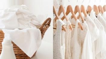 白衣控必讀!透過洗滌、清潔小撇步、烘衣、保養四大秘訣程序,還你白亮亮的衣服!