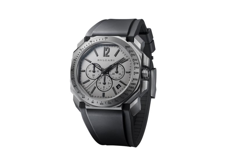 Octo 系列計時碼錶,Bulgari。