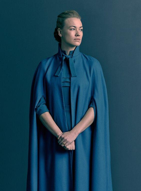 侍女的故事中飾演Serena的Yvonne Strahovski