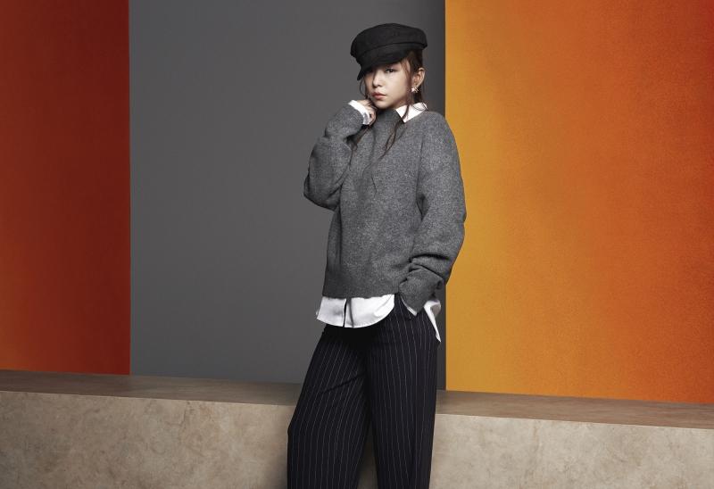 安室奈美惠x H&M 2018初秋系列,台湾即将上市