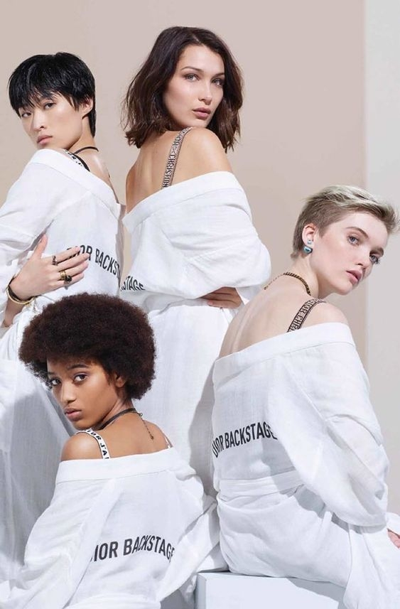 Christian Dior BackStage Makeup