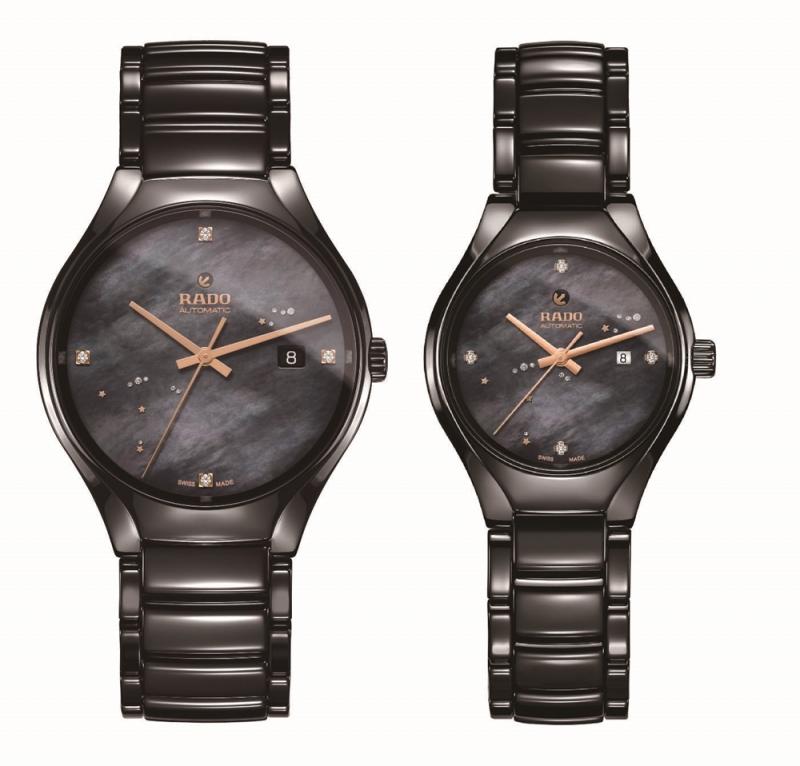 Rado 瑞士雷達表 True真我系列高科技陶瓷七夕對錶
