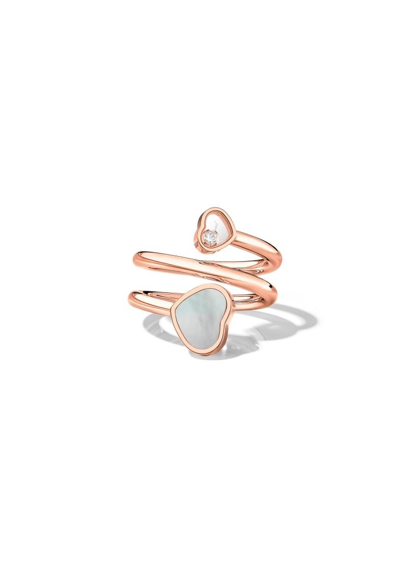 Happy Hearts Twist Ring