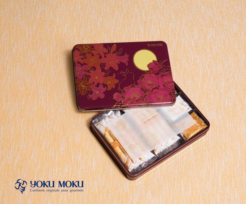 金秋綜合禮盒-原味雪茄蛋捲8入、雙層巧克力薄片8入、雙層白巧克力薄片4入,售價NTD920/盒 優惠價NTD1800/2盒