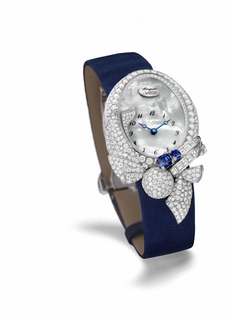BREGUET LES VOLANTS DE LA REINE 8924皇后的霓裳高級珠寶錶